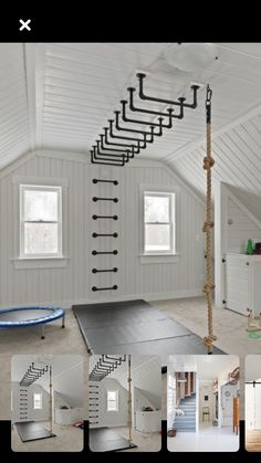 (notitle) - Jungs Zimmer - Home Gym Home Gym Garage, Diy Home Gym, Gym Room At Home, Home Gym Decor, Basement Gym, Best Home Gym, Crossfit Garage Gym, Basement Remodeling, Bathroom Remodeling
