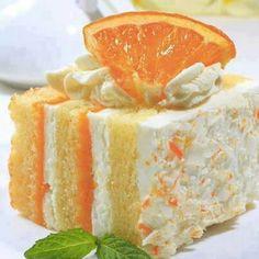Orange dream cycle cake