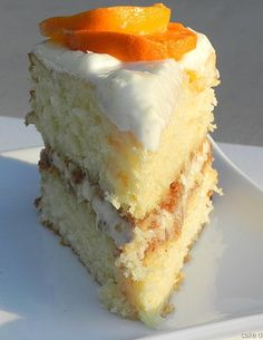 Orange Crunch Cake @L Mahaffey