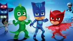 Printable worksheets and activities for fans of the new show, PJ Masks on Disney Jnr.