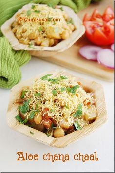 7aum Suvai: Aloo chana chaat