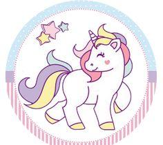 PARA IMPRIMIR: Kit de fiesta de unicornio