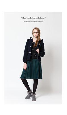 リングウールショートダッフルコート通販 |レディースファッション通販【公式】ティティベイト(titivate)30代・40代のトレンド満載