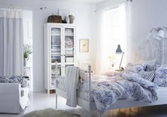 One bedroom, three ways. Change up your look with EMMIE LAND textiles.