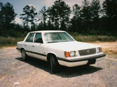 1985 Plymouth Reliant - I had bought a red one new and had my first cell phone hard wired into front of car with a standard phone handset.