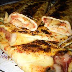 Lipii cu cascaval si sos de rosii I Feel Good, Pork, Chicken, Meat, Baking, Pork Roulade, Beef, Pigs, Bakken