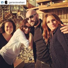 #Repost @genevieveherr with @repostapp. ・・・ So much fun today's project with amazing #juliaroberts @davidso75 @sergenormant @elizabethstewart1 #makeup #genevieveherr @alexilubomirskiphoto @lancomeofficial