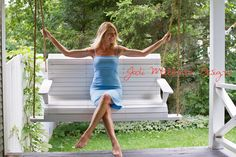 The Kathryn on the porch. Clothing Labels, The Chic, Feeling Great, Her Style, Designer Dresses, Porch, Fashion Styles, Balcony, Clothing Tags