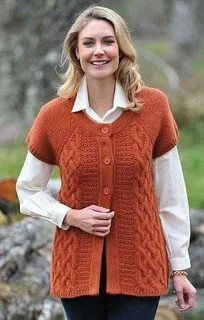 Knit Cardigan Pattern, Knitted Poncho, Cable Cardigan, Knit Baby Sweaters, Baby Hats Knitting, Fair Isle Knitting Patterns, Knitting Designs, Cardigans For Women, Knit Crochet