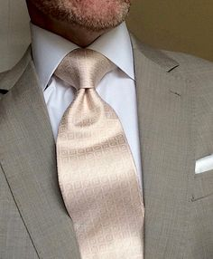 London York Executive Knot Ties: Cut to make a more substantial knot for a sharp, elegant, powerful look. www.london-york.com