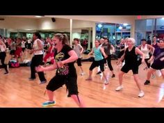 Zumba routines and strengthening exercises