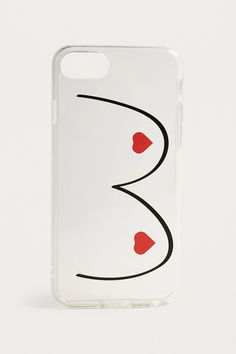 Heart Boobs iPhone 6/7/8 Case | Urban Outfitters