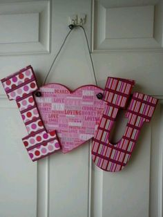 Valentines.    Wood crafts