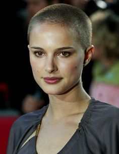 Seriously...she even looks good practically bald! So jealous...