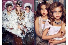 hypersexualization of little girls in advertising    gender, advertising, children, child, sexualizaiton