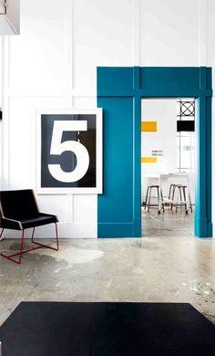 Schon GroB Wandfarbe Apricot Der Frische Trend Bei Der Wandgestaltung In 40  Beispielen | Pinterest | Wandgestaltung