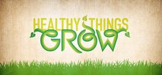 The 'Grow' sermon series graphics for Paradise Valley Community Church features hand-lettered type