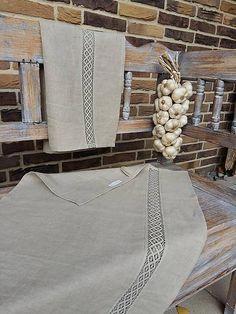 Kitchen towels by shabby.romantic / Ľanová utierka Grandma's Memories