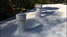Madera Flat Roofs / Foam Roofing Commercial and Industria. Foam Roofing, Roofing Companies, Flat Roof, San Luis Obispo, Commercial, Youtube, Outdoor, Wood, Outdoors