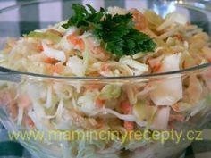 Salát Coleslaw podle Z. Pohlreicha Coleslaw, Potato Salad, Cabbage, Potatoes, Treats, Chicken, Vegetables, Ethnic Recipes, Detox