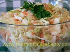 Salát Coleslaw podle Z. Pohlreicha