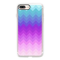 Pastel Ombre Chevron  - iPad Cover / Case (925 HNL) ❤ liked on Polyvore featuring accessories, tech accessories, ipad cover / case, apple ipad cover case, ipad cases, ipad sleeve case, apple ipad case and ipad cover case