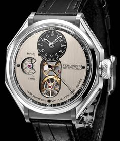 The Chronométrie Ferdinand Berthoud FB is an update to the FB 1 watch that has been two years in the making. Stylish Watches, Luxury Watches For Men, Amazing Watches, Cool Watches, Mens Designer Watches, Hand Watch, Leather Watch Bands, Ferdinand, Mechanical Watch