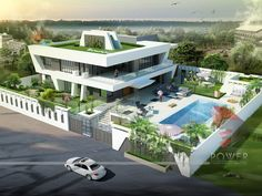 Full size of modern bungalow house design images plans with pictures gallery architectural rendering bungalows home Modern Bungalow House Design, Modern Home Interior Design, House Front Design, Bungalow Designs, Modern Design, Bungalow Exterior, Modern Farmhouse Exterior, Dream House Exterior, Bungalow Homes
