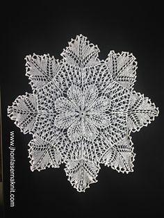 doily flower romantic pattern by Jhon Laserna