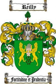 Reilly Coat of Arms / Reilly Family Crest from The Coat of Arms Store at www.4crests.com
