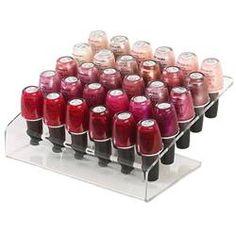 @Sarah Graf - nail polish rack