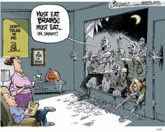 Fox News watchers are immune to the zombie apocalypse