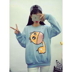 Kawaii Giraffe Sweater