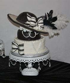 Kentucky Derby Hat Cake By Teresa_Cakes on CakeCentral.com