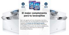 BOSCH - Por la compra de lavavajillas EcoSilence 6 meses de detergente gratis http://www.materialdirecto.es