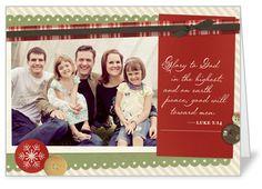 SHUTTERFLY: Season Of Jesus Religious Christmas Card