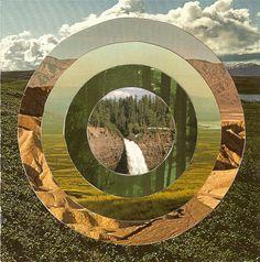 Juxtapoz Magazine - Collages by Steven Quinn Collage Landscape, Creative Landscape, Landscape Photos, Soul Collage, Paper Collage Art, David Hockney Photography, Magazine Collage, Mix Media, Collages