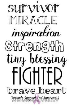 34 Best Preemie Quotes: Hope and Inspiration images in