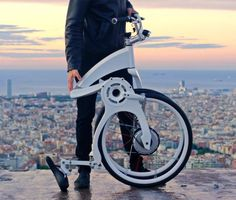 Gi FlyBike electric bike that folds in one second  , - ,   Gi FlyBike elect...