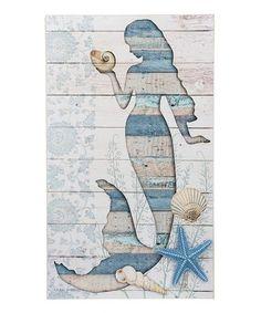Look what I found on #zulily! Mermaid Shells Wall Décor #zulilyfinds
