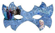 Frozen: Free Printable Mask.