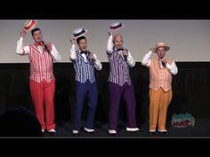 Dapper Dans sing boy bands Full Version One Direction, Backstreet Boys for Disney World Limited Time Magic