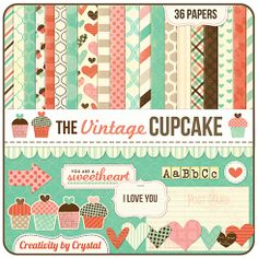 love this yummy paper. and love this digital scrapbooking company!