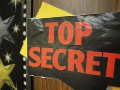 "Build Excitement about Lessons with Top Secret poster occasionally used outside class door to energize students about new changes in classroom -or- a gift bag with new read aloud book sitting out all day and opened at the end of the day -or- End of the Day Teaser on the board that says something to excite kids about the next day's lesson like ""Stay tuned until tomorrow when we make glow in the dark food"""