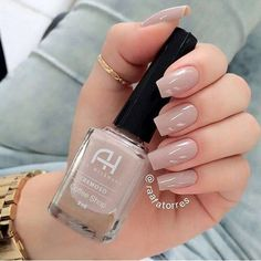 with Coffe Shop da Ana Hickman nas unhas da Gelish Nails, Manicure And Pedicure, Trendy Nails, Cute Nails, Hair And Nails, My Nails, Uñas Diy, Nails Tumblr, Gorgeous Nails