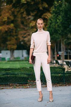Paris Fashion Week SS17 Street Style: Day 3