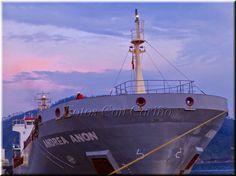 """Fotos Con Cariño: Proa del barco mercante """"Andrea Añón""""."""