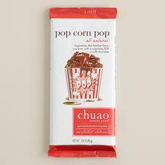 Chuao Milk Chocolate Popcorn Pop Bar   World Market. Pop rock chocolate! I want I want!
