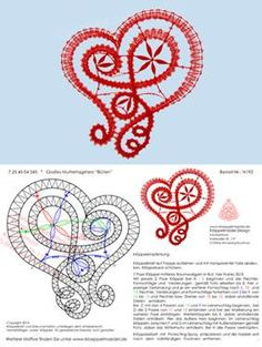 may need to just copy and paste into word to get patterns Filet Crochet, Irish Crochet, Bobbin Lace Patterns, Crochet Patterns, Lace Embroidery, Embroidery Stitches, Crochet Flowers, Crochet Lace, Bruges Lace