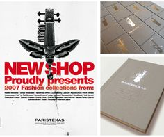 Corporate Visual Identity for PARISTEXASTHE TASKPARISTEXAS opened its doors in…